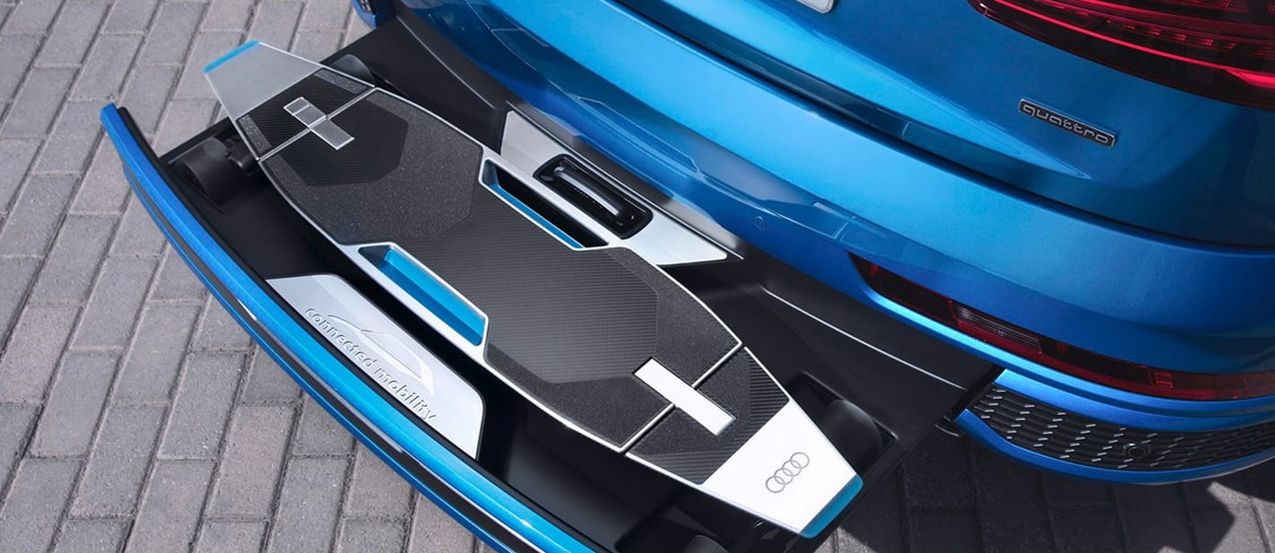 2016 Audi Q 3 Connected Mobility Concept Electric Longboard Side Jpg