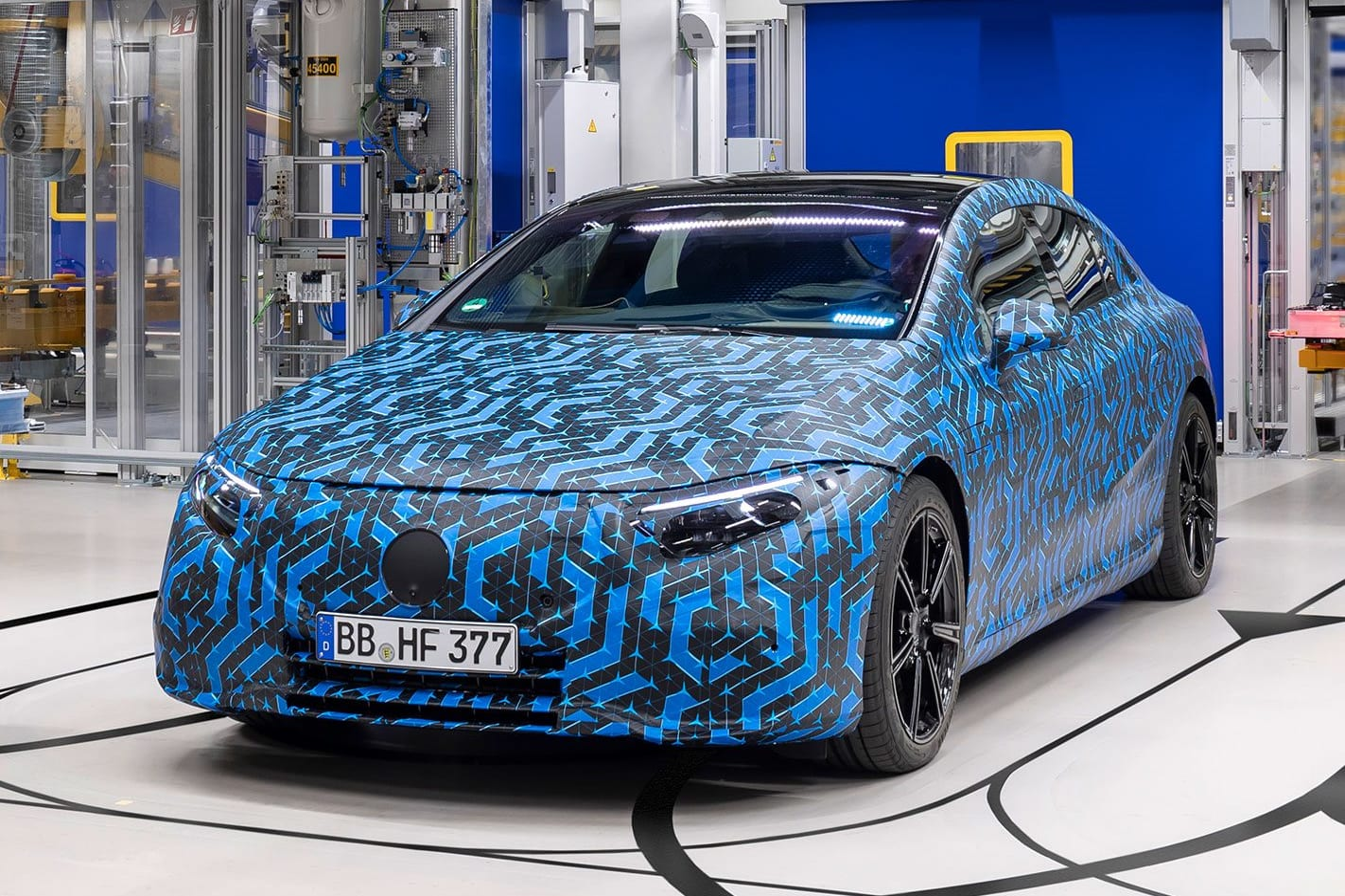 2021 Mercedes Benz EQ strategy