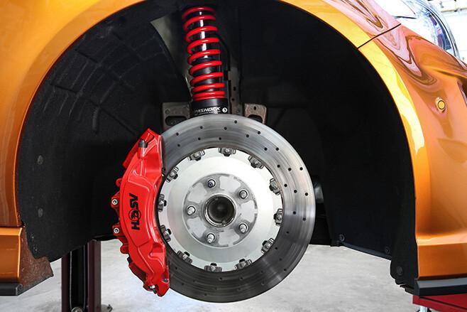 HSV GTSR W1 brakes