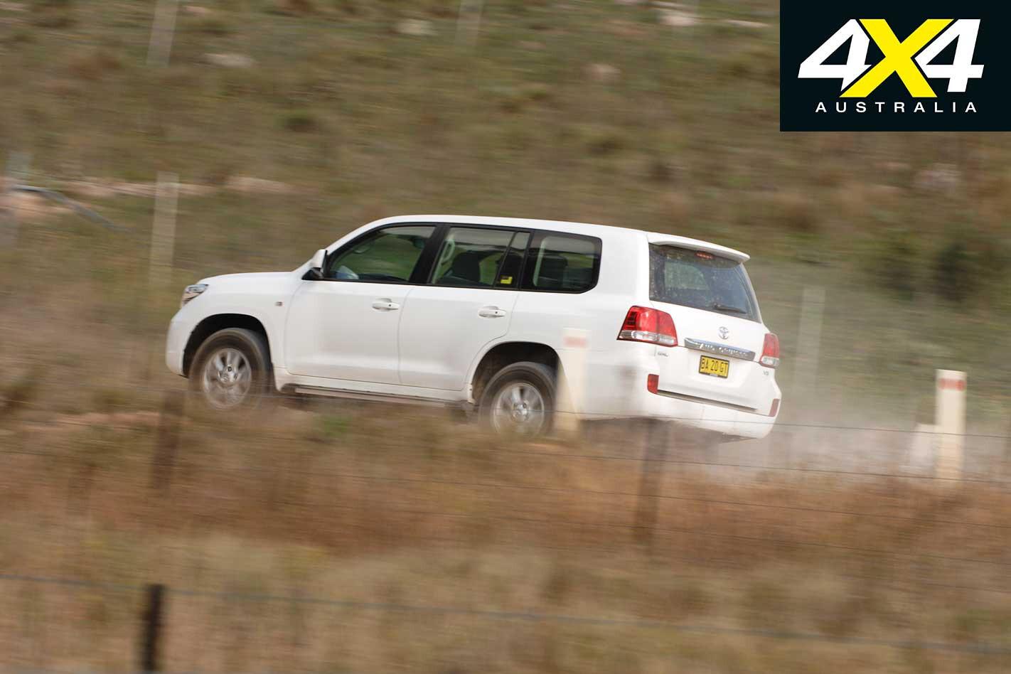 2009 Toyota Land Cruiser On Road Jpg