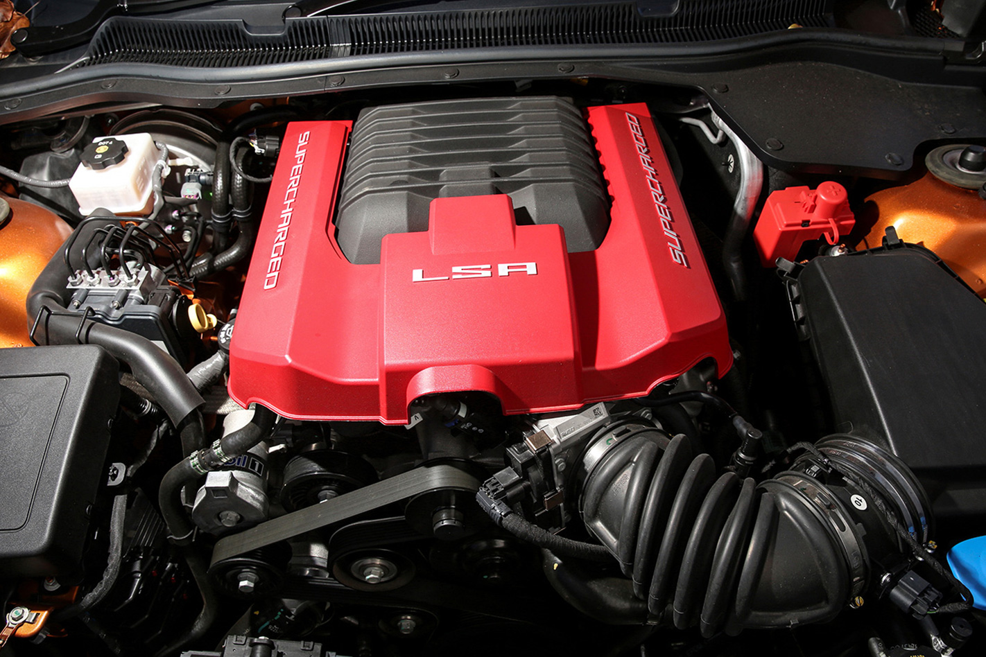 2017 HSV GTSR Maloo engine