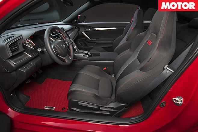 Honda civic si interior