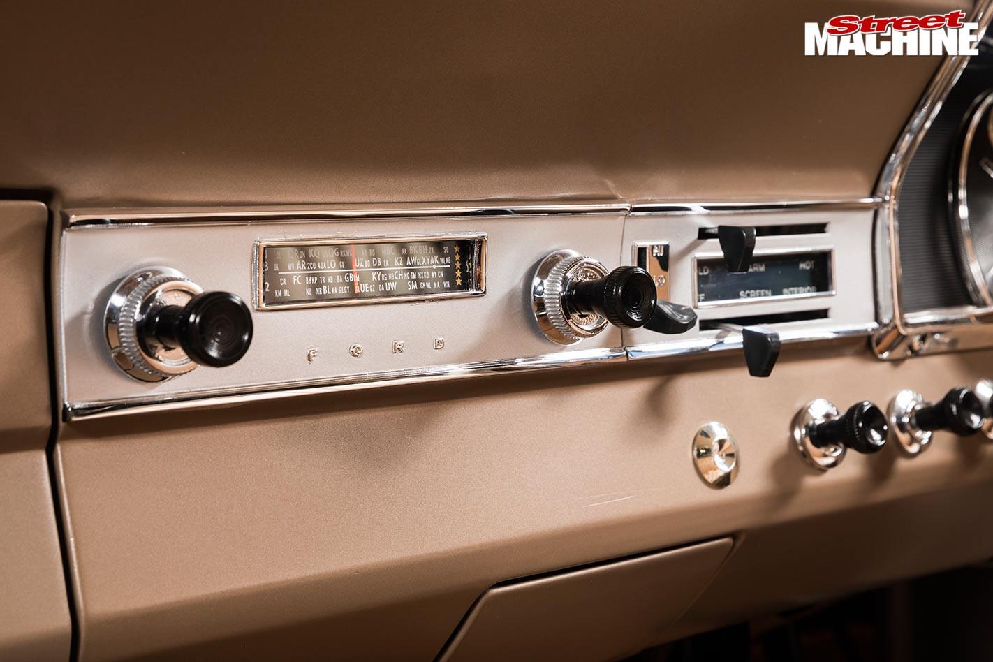 Ford Falcon XR ute radio