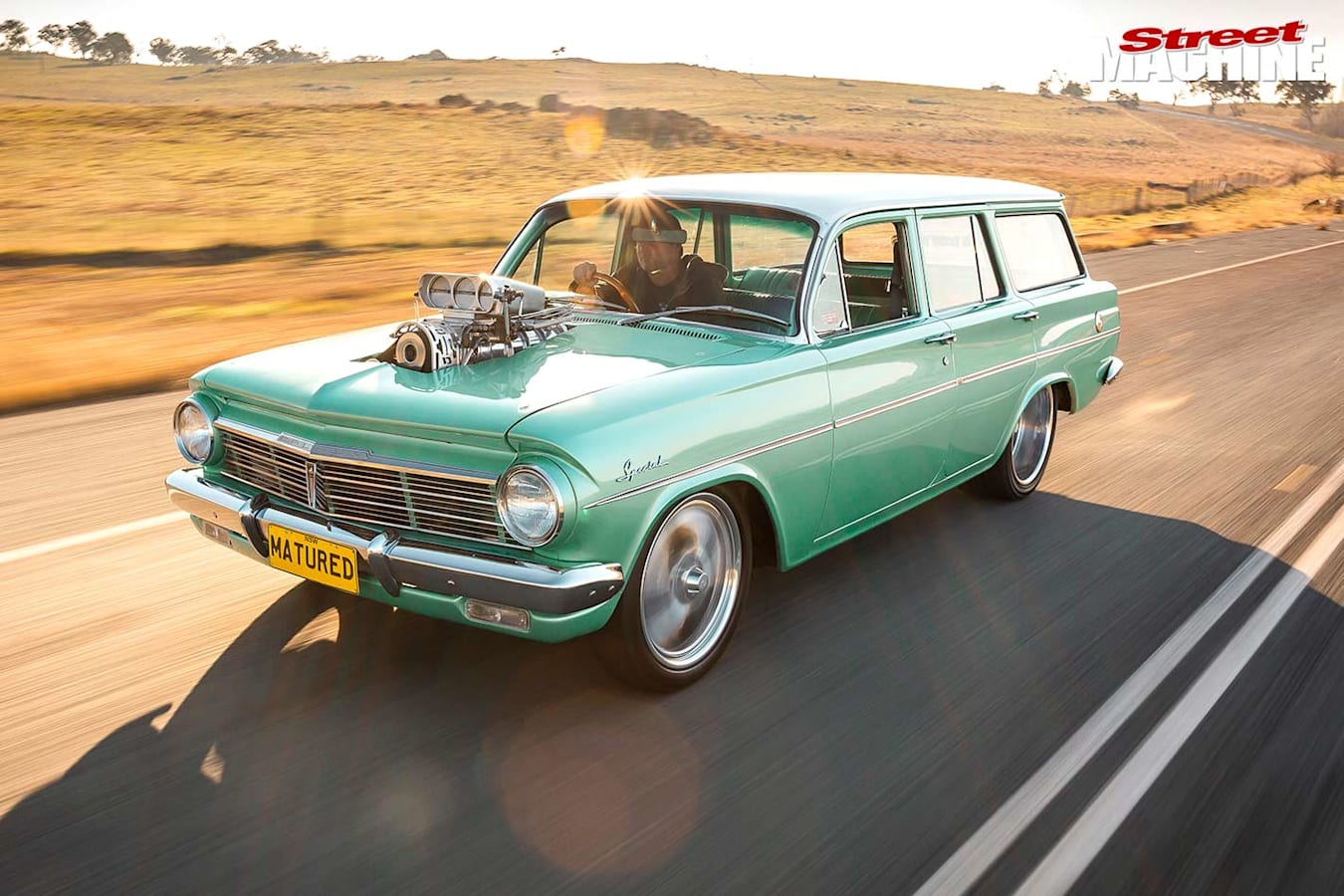 Holden EH wagon onroad