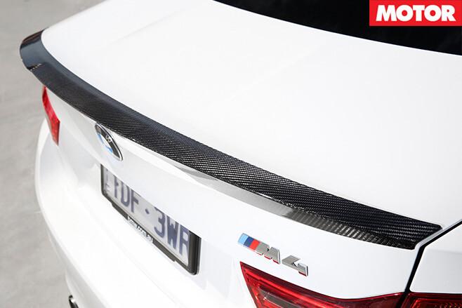 2016 BMW M4 M Performance rear