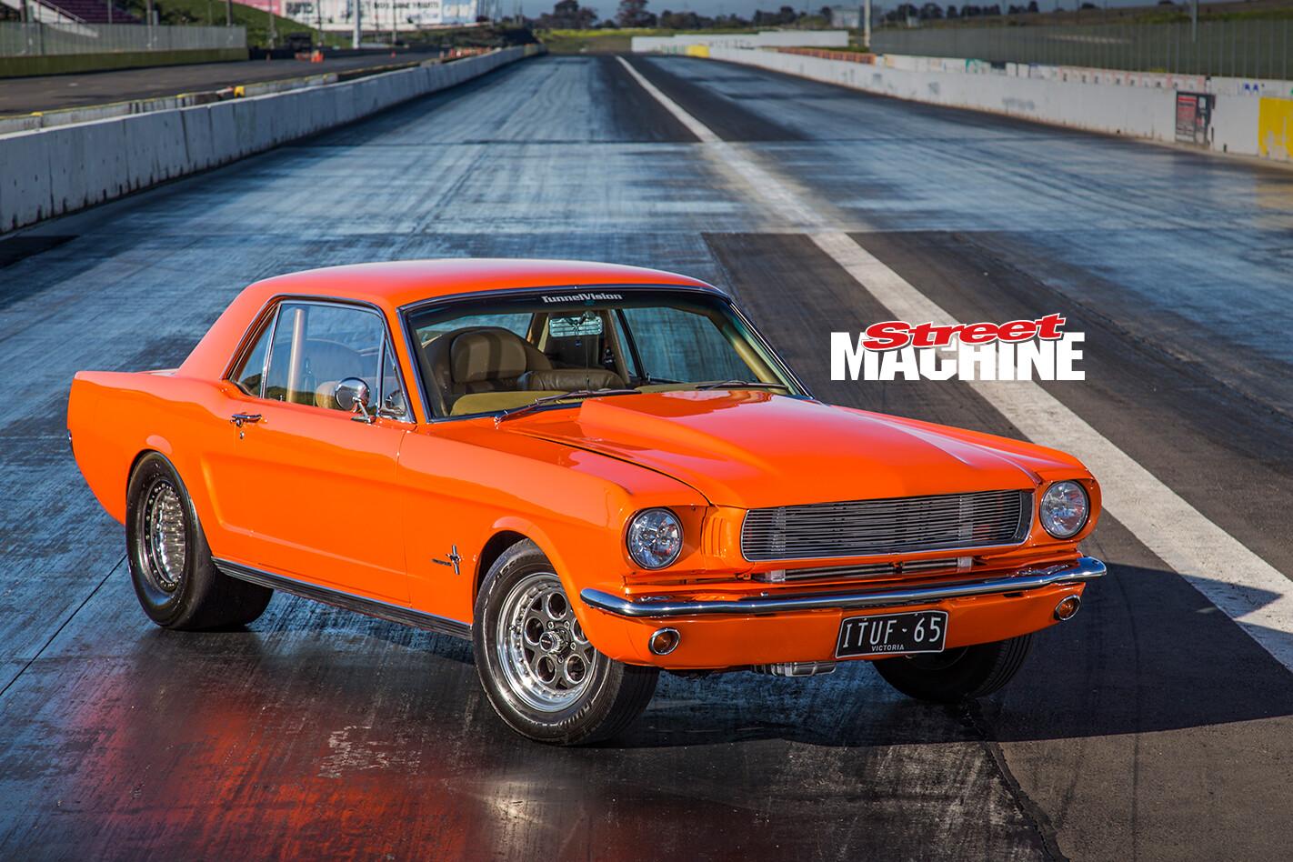 65 Mustang Turbo Six