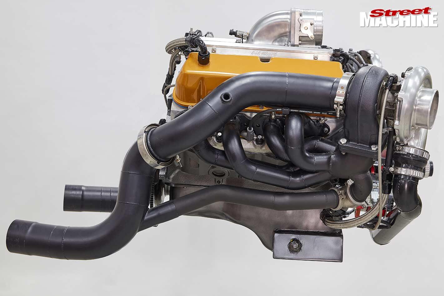 twin-turbo Windsor mill
