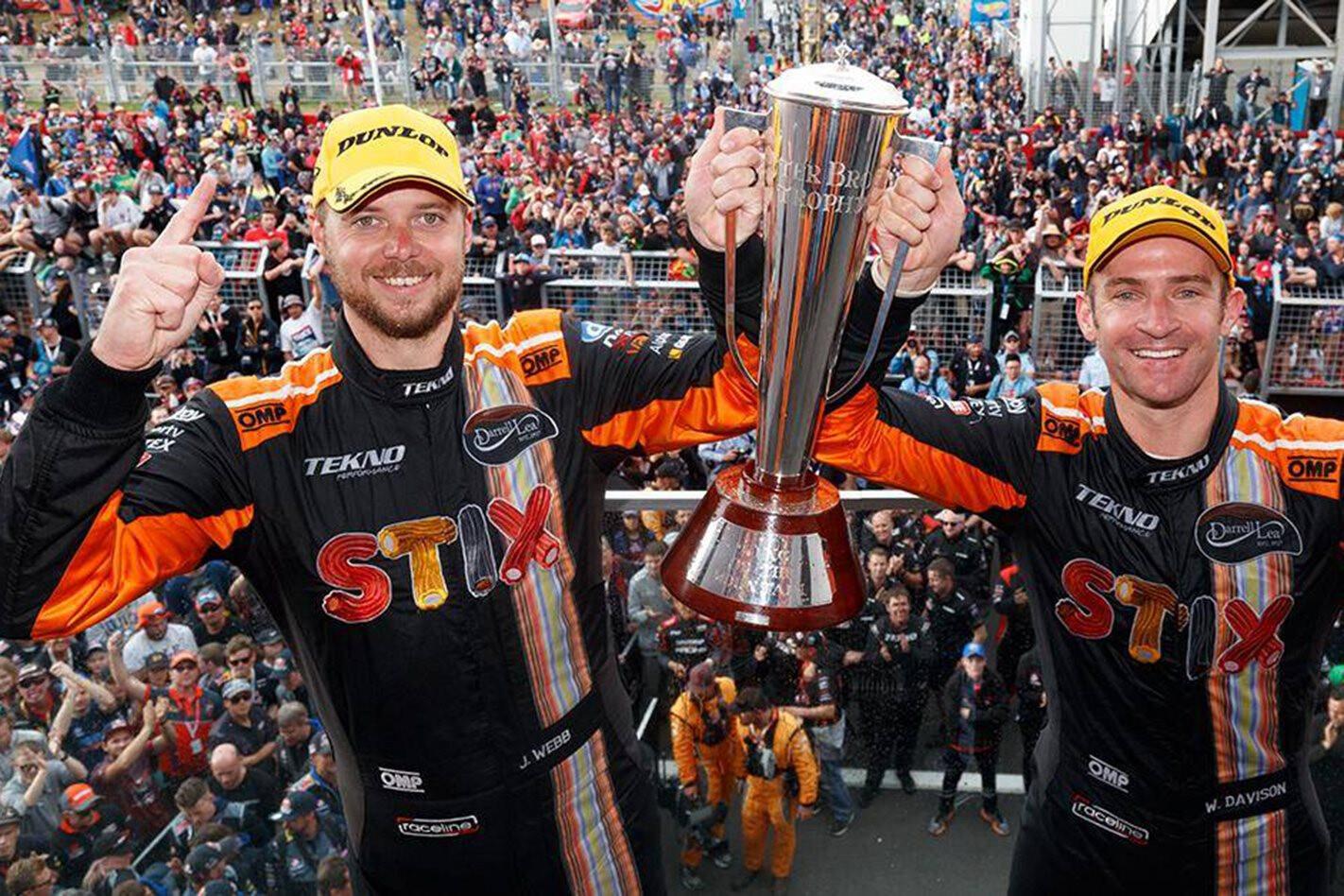 Jono Webb and Will Davison win the Bathurst 1000