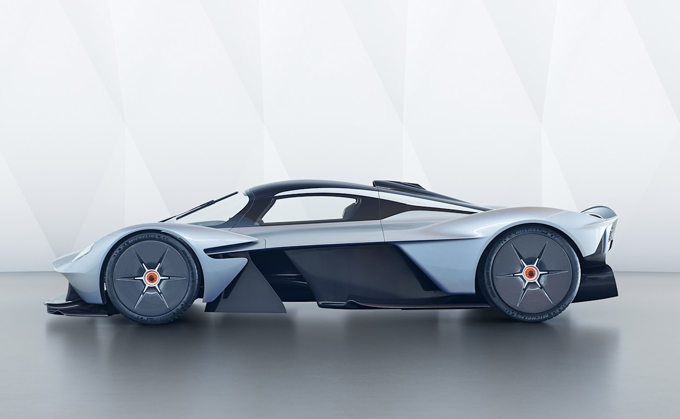 Aston Martin Valkyrie side