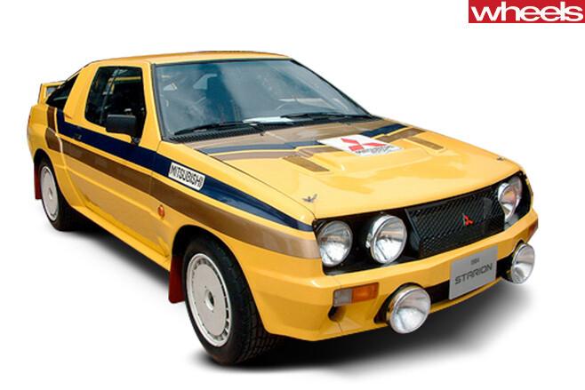 Mitsubishi -Ralliart -Starion -Group -B-Rally -car