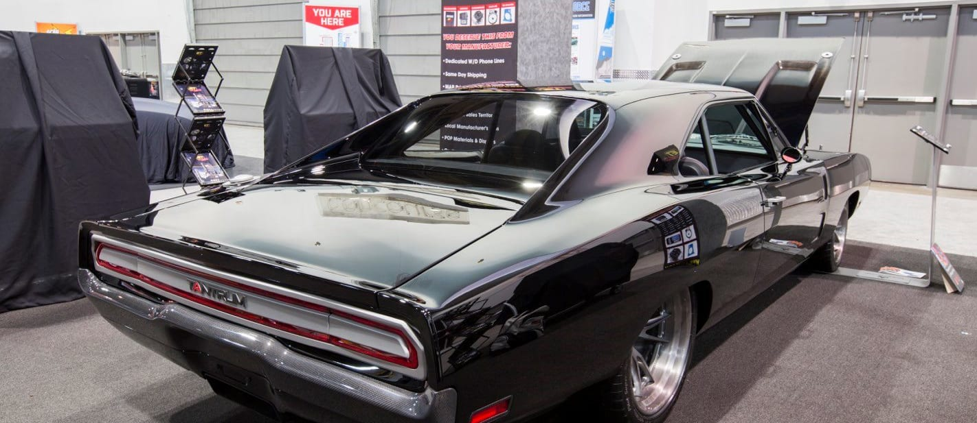 Dodge Charger with twin-cam LS V8