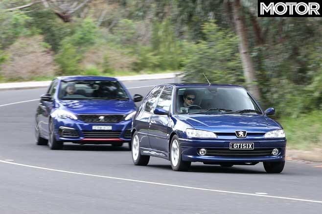 Peugeot 308 GTI And 306 G Ti Drive Comparison Jpg