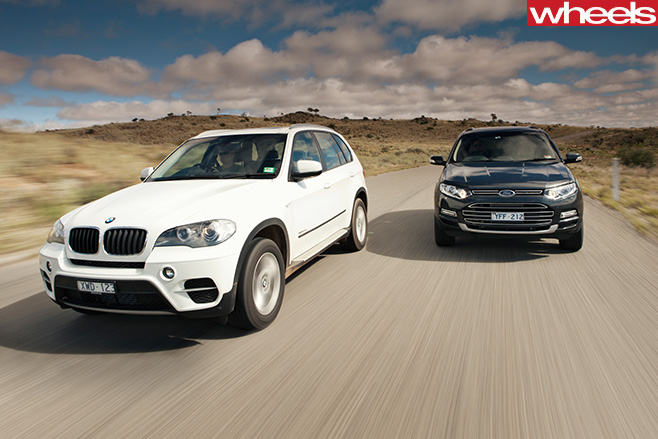 2011-Ford -Territory -front -with -BMW-X5