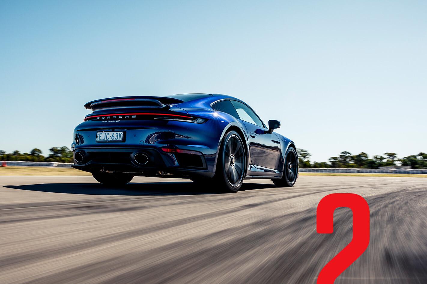 2021 MOTOR PCOTY 2nd place Porsche 911 Turbo S