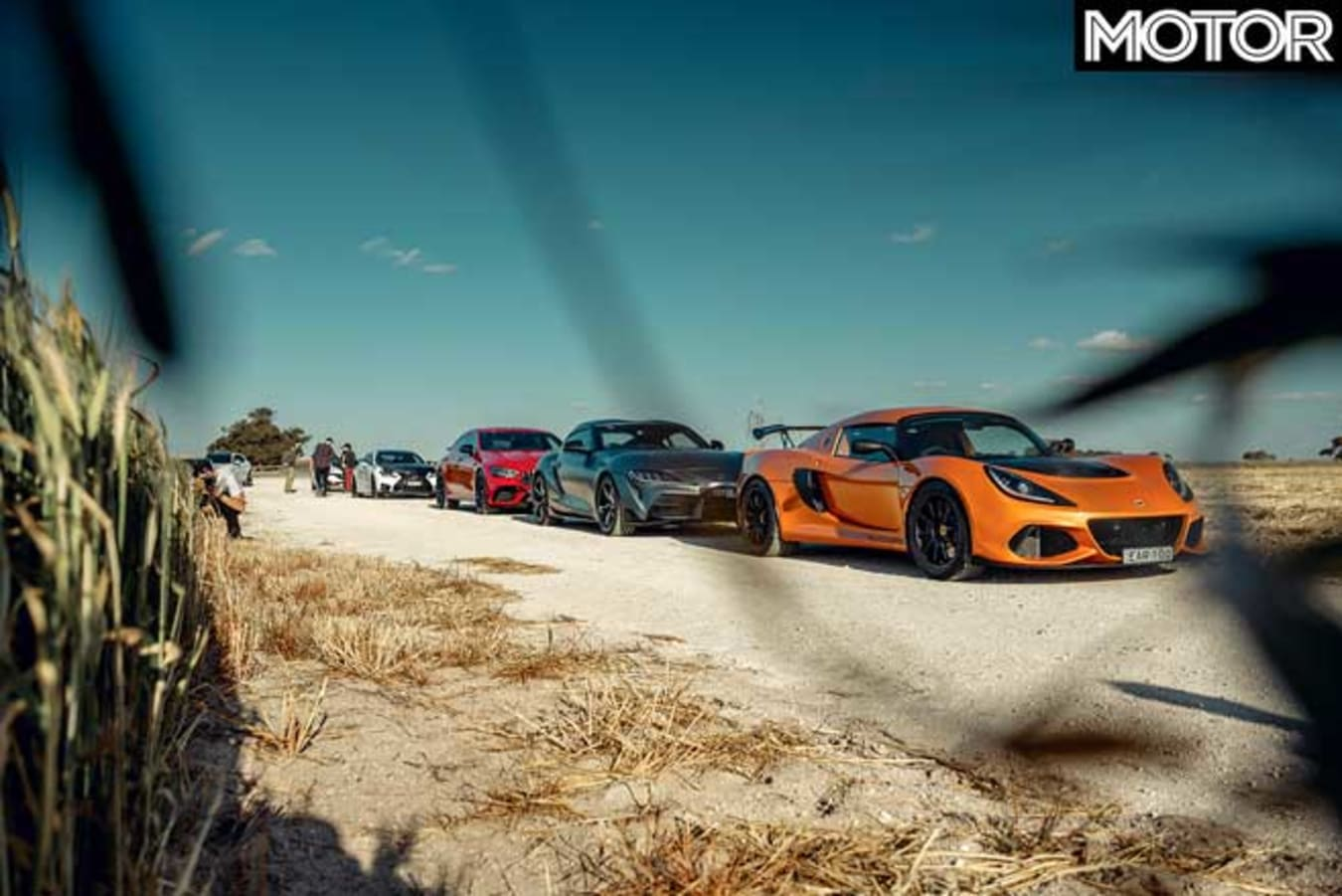 Performance Car Of The Year 2020 Road Course Line Up Jpg