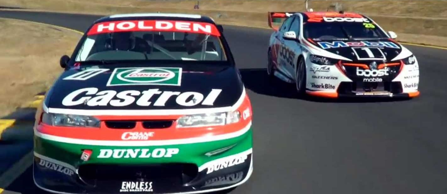 Jack And Larry Perkins Drive 1997 And 2018 Commodore Supercars Jpg
