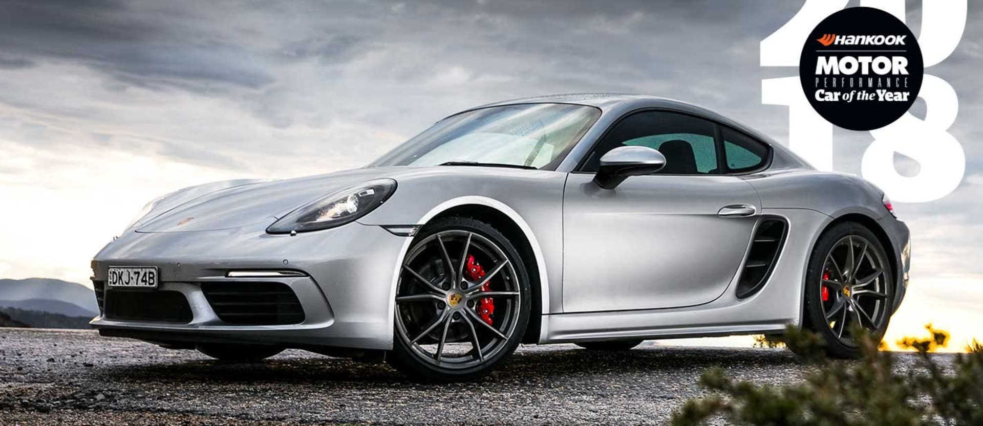 Porsche 718 Cayman S Performance Car of the Year 2018 3rd Place feature