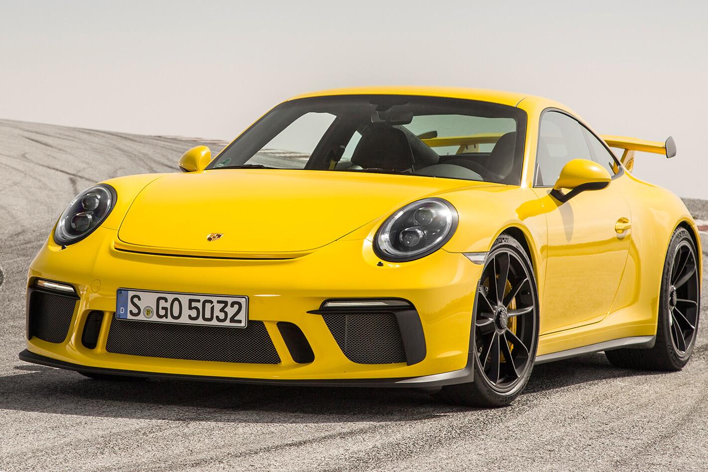 2017 Porsche 911 GT3 manual front
