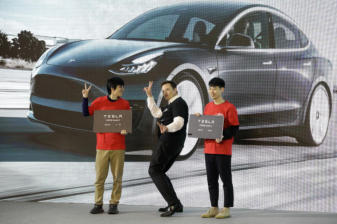 Tesla China Elon being Elon