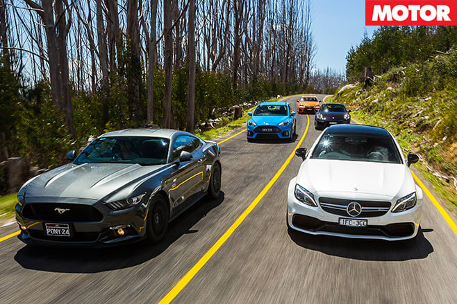 AMG leading the pack