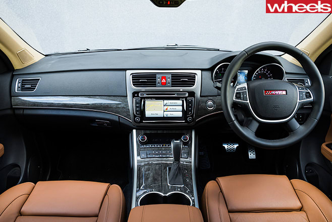 Haval -H8-interior -front -seats