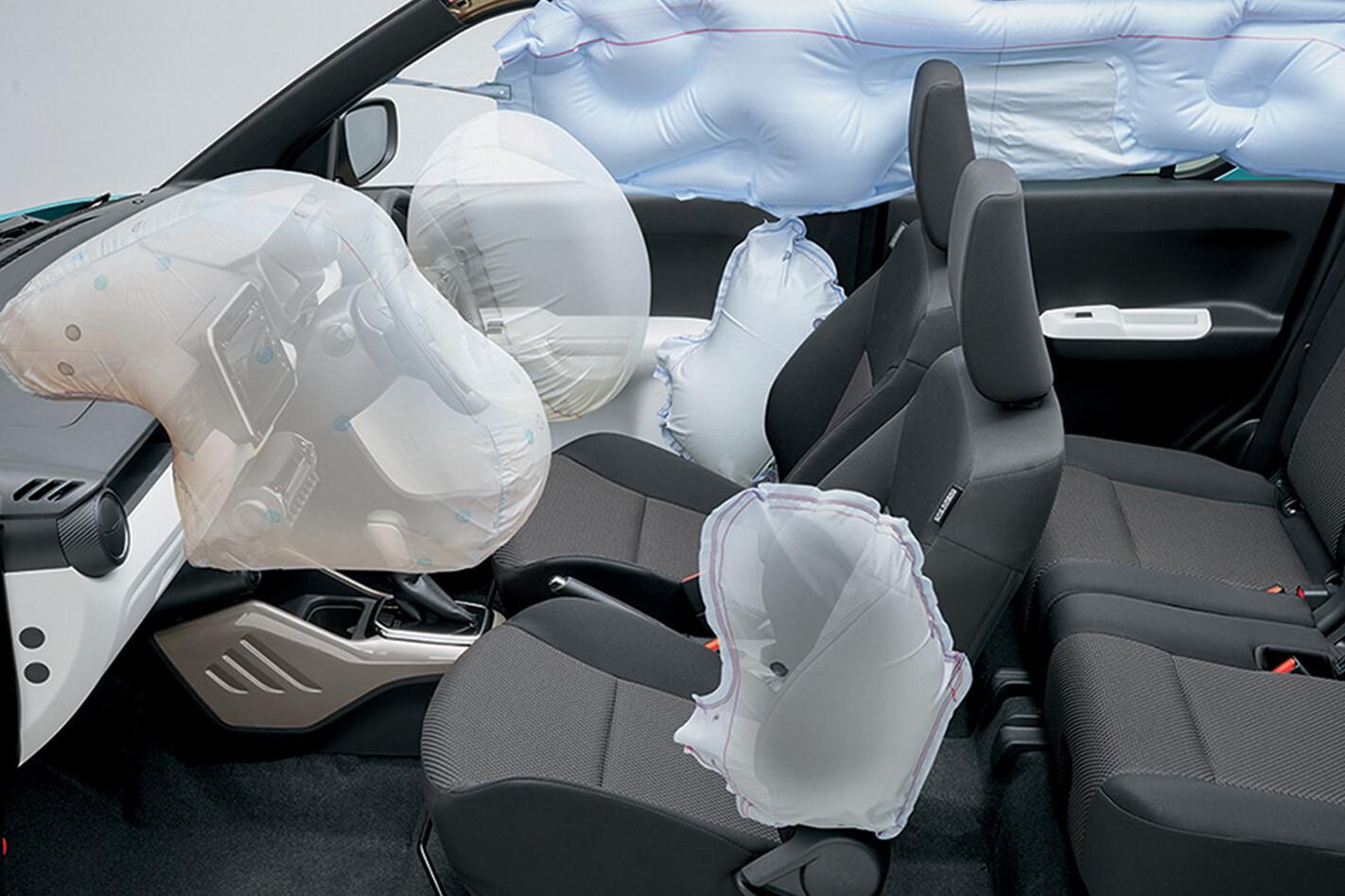 Suzuki Ignis airbags