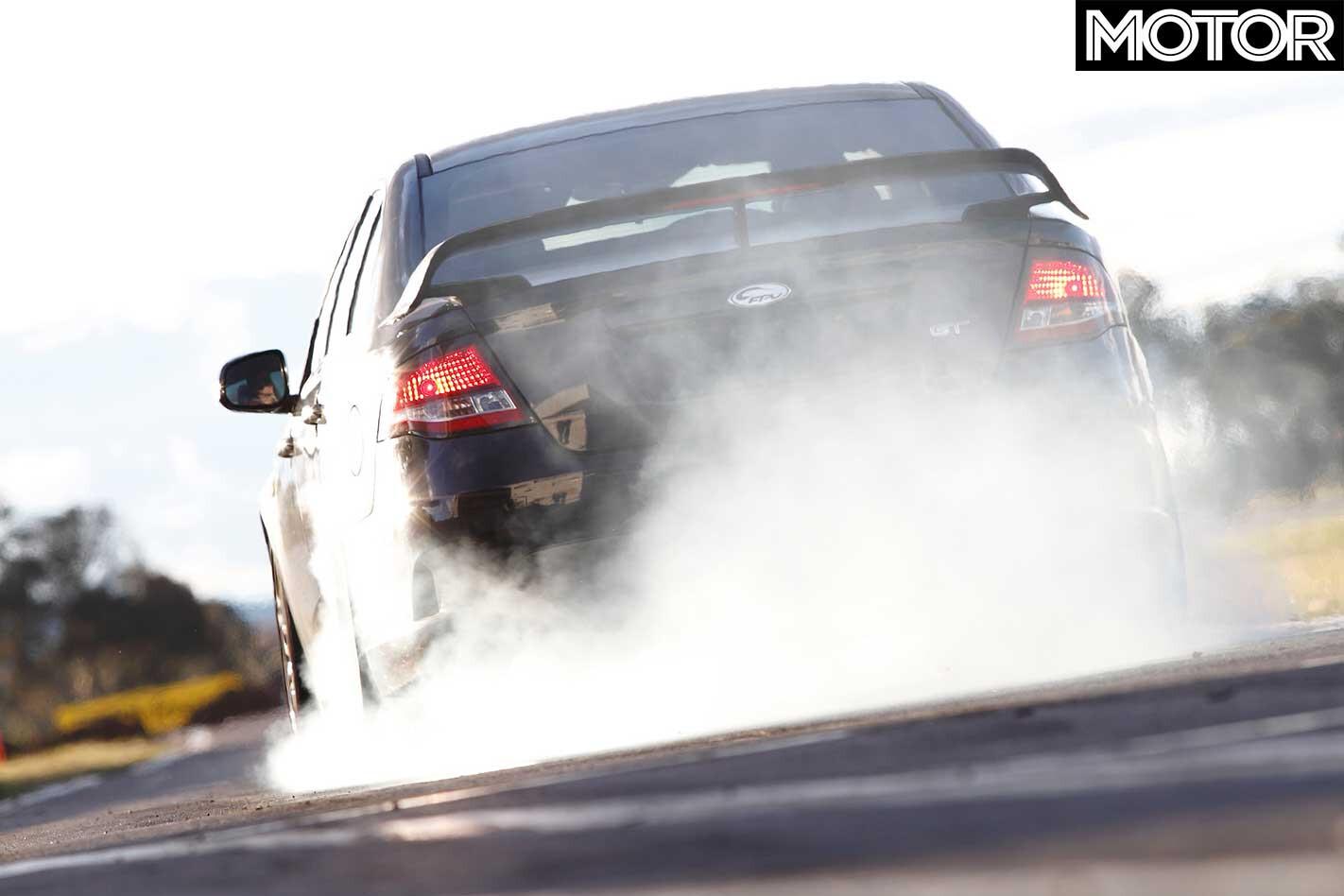 Premcar Develops Ultimate V 8 Ford Falcon Burnout Jpg