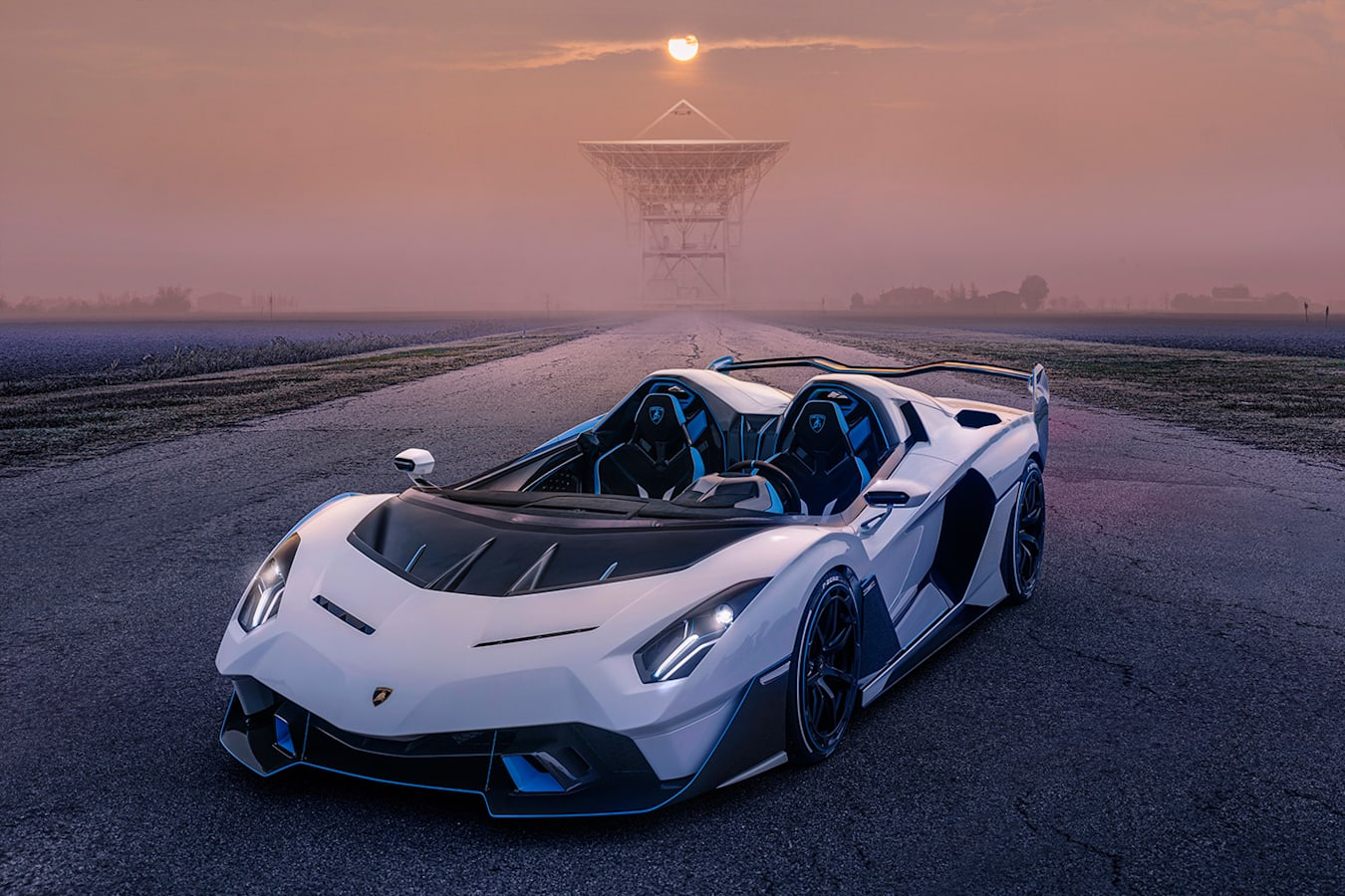 Exotic Specials Lamborghini SC 20 Front Quarter Jpg