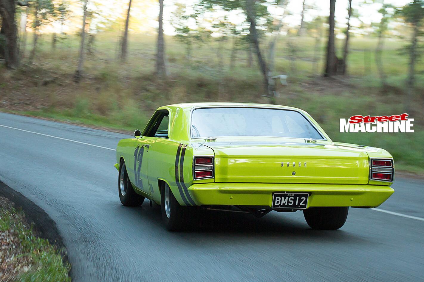 Dodge -Dart -onroad -rear