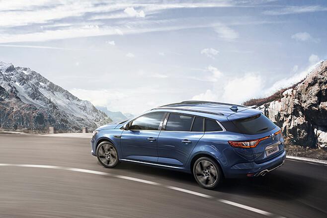 Renault Megane Gt Rear Jpg