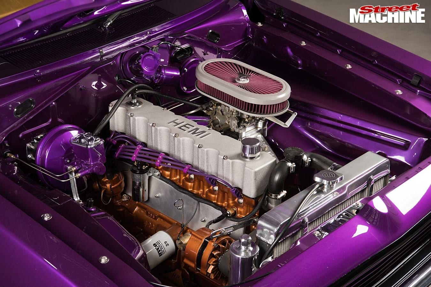 Chrysler VJ Charger engine