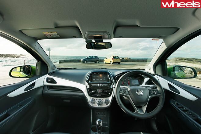 Holden -Spark -interior