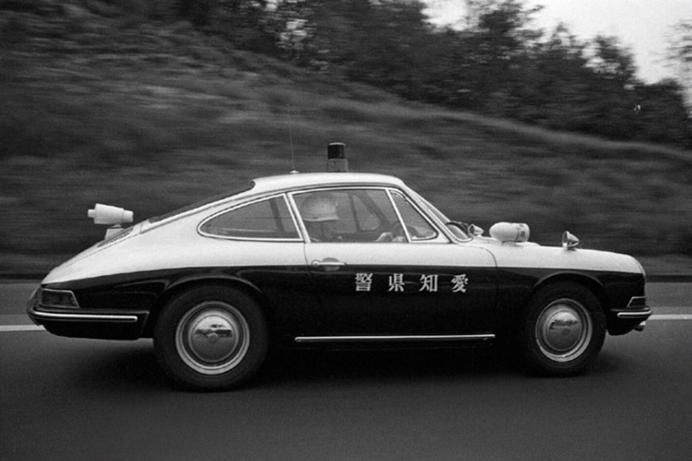 Porsche 912 police