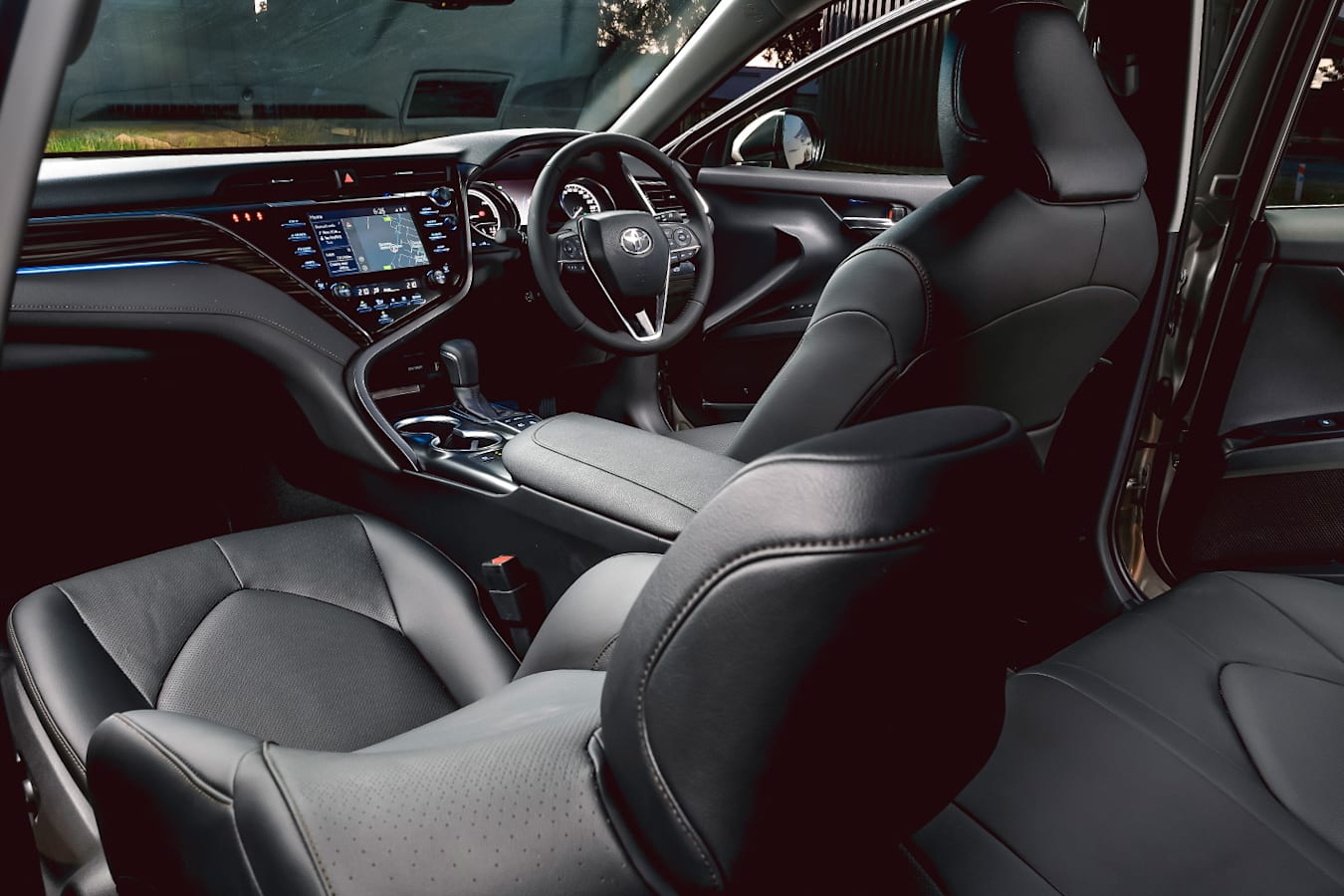 Toyota Camry Hybrid Sl Interior Jpg