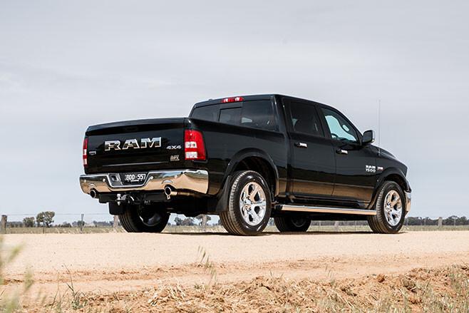 Ram 1500 rear