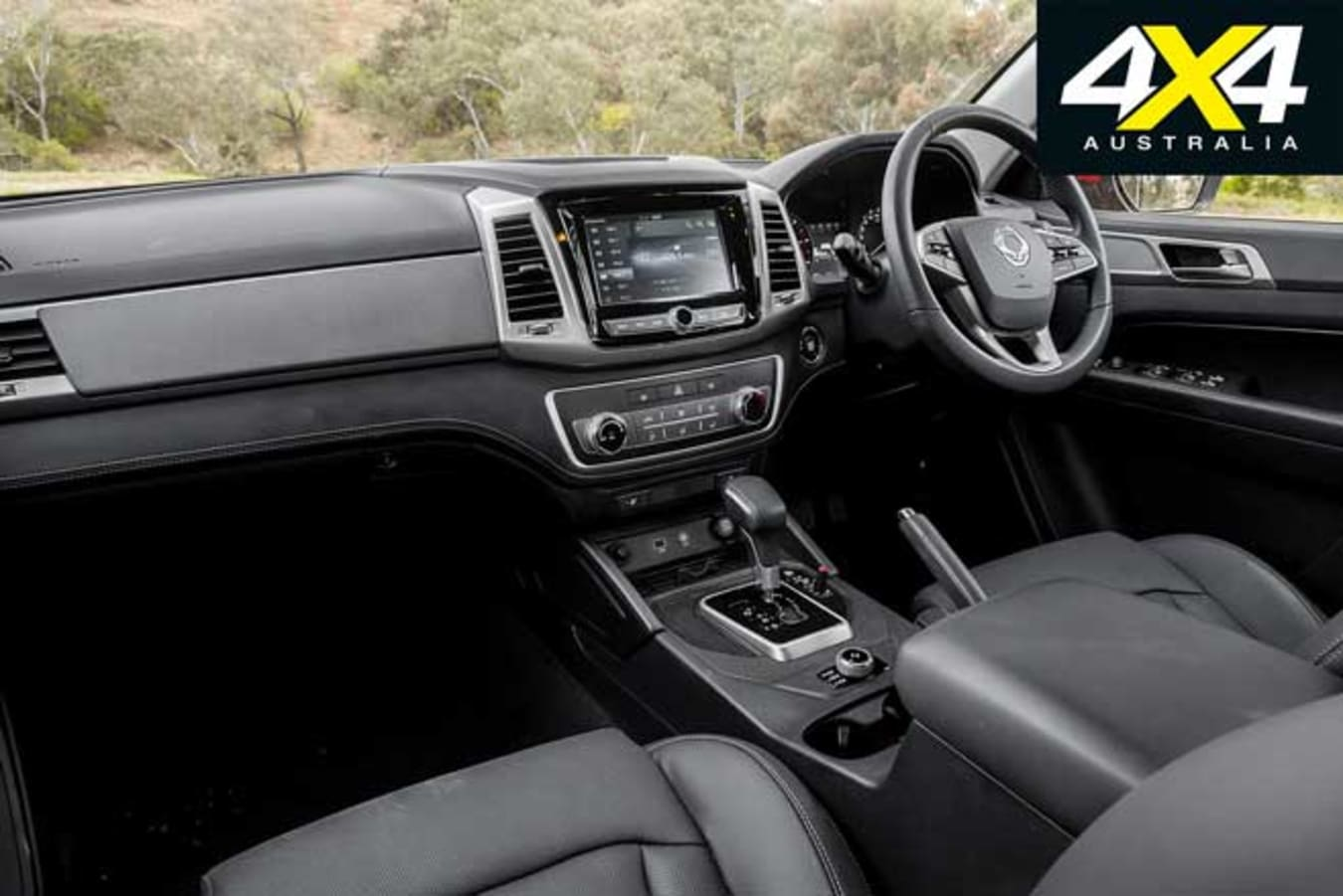2020 4 X 4 Of The Year Ssangyong Musso XLV Ultimate Interior Jpg
