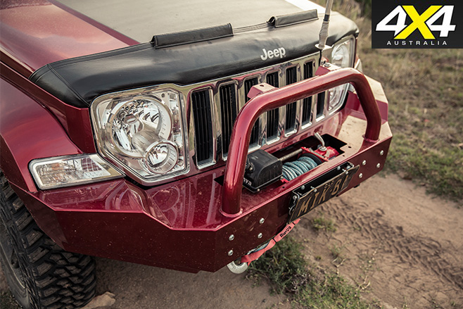 Jeep bullbar