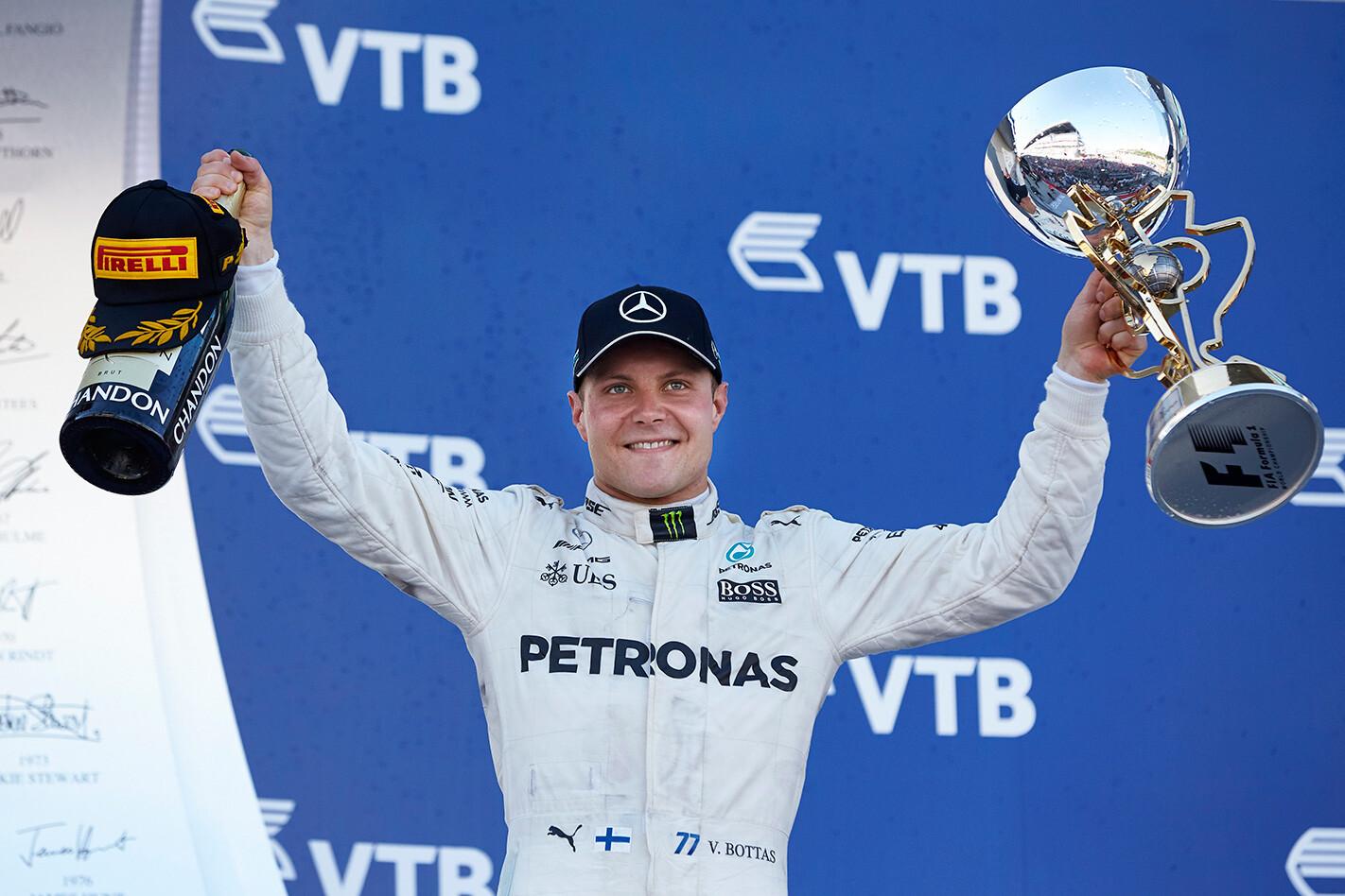 Bottas wins 2017 F1 Russian Grand Prix