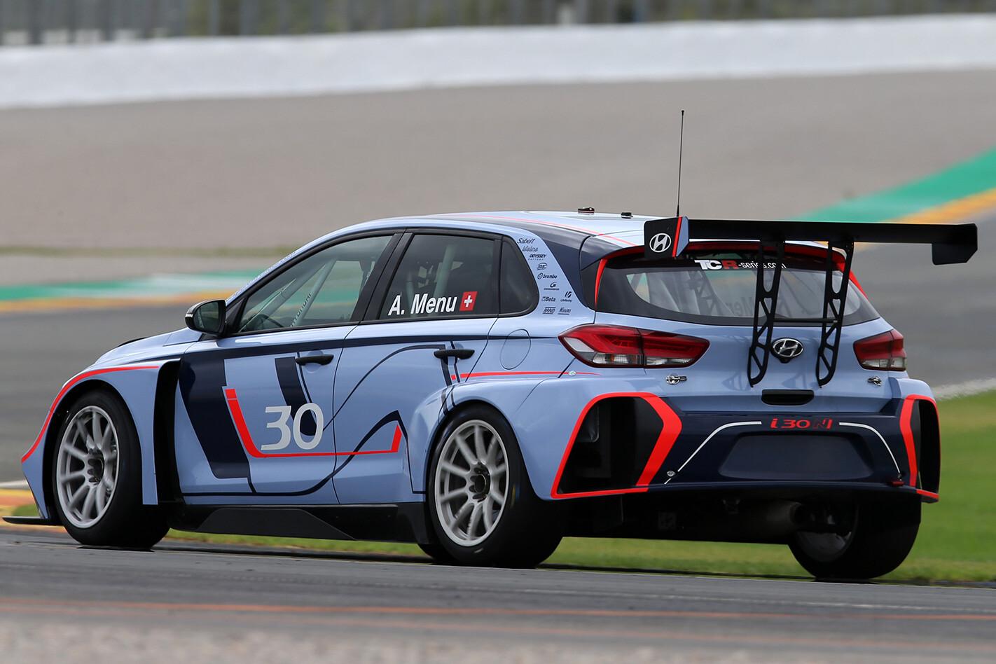 Hyundai I 30 Tcr Rear Jpg