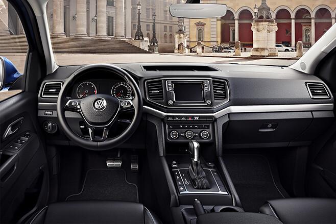 2016 Volkswagen Amarok Adventura interior