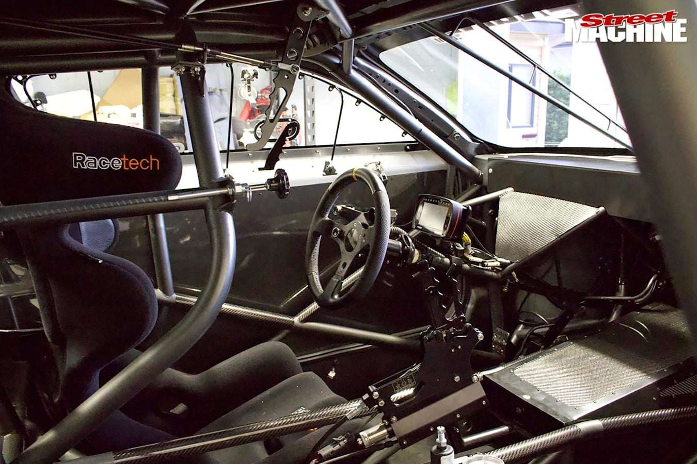 Joe Gauci's Ford Mustang interior