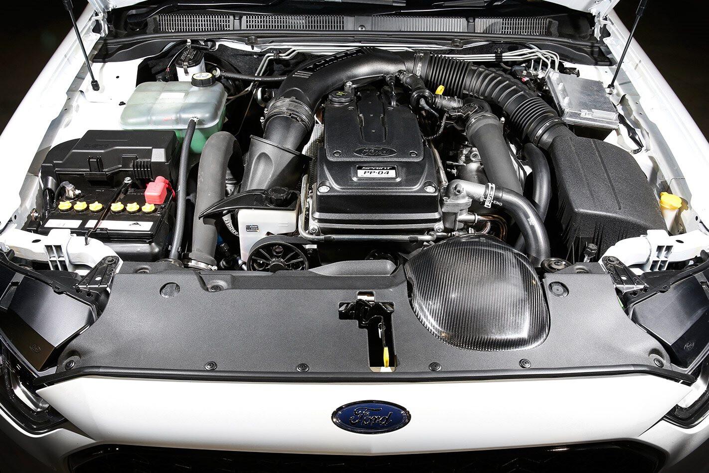 Ford Falcon XR6 Turbo engine bay
