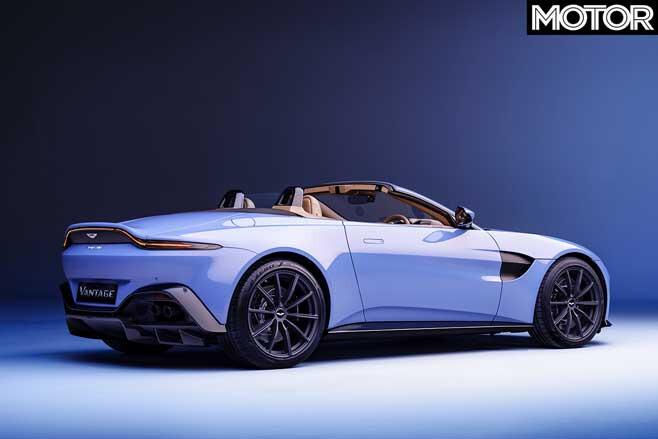 2020 Aston Martin Vantage Roadster Rear Jpg