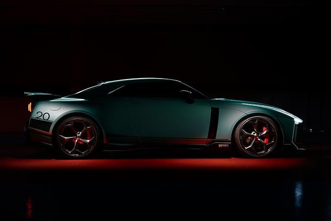 Nissan GT-R50 by Italdesign side