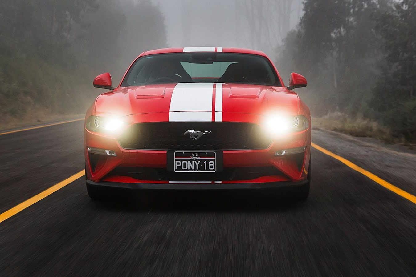 Ford Mustang Front Jpg