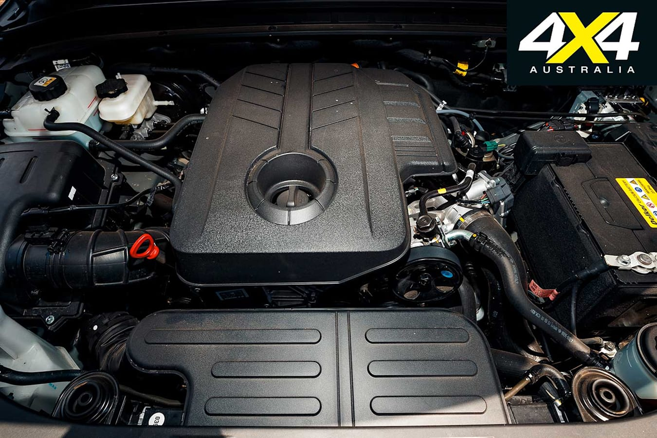 4 X 4 Of The Year 2019 Ssang Yong Rexton ELX Engine Jpg