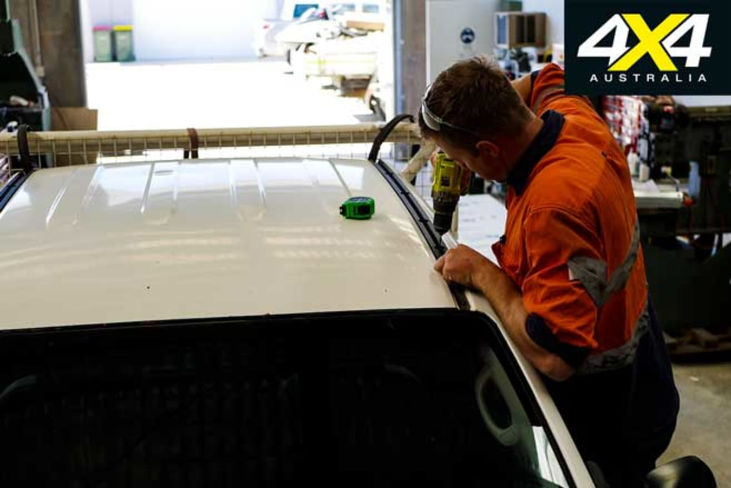 Toyota Hilux Budget Tourer Build Update 3 Yakima Lock N Load Installation Jpg