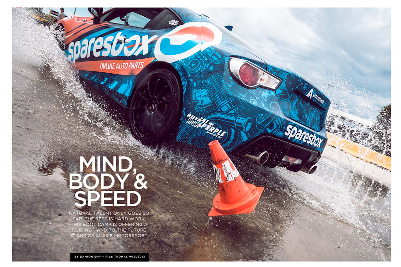 Motor Feb Issue Preview Racing Driver Boot Camp Jpg