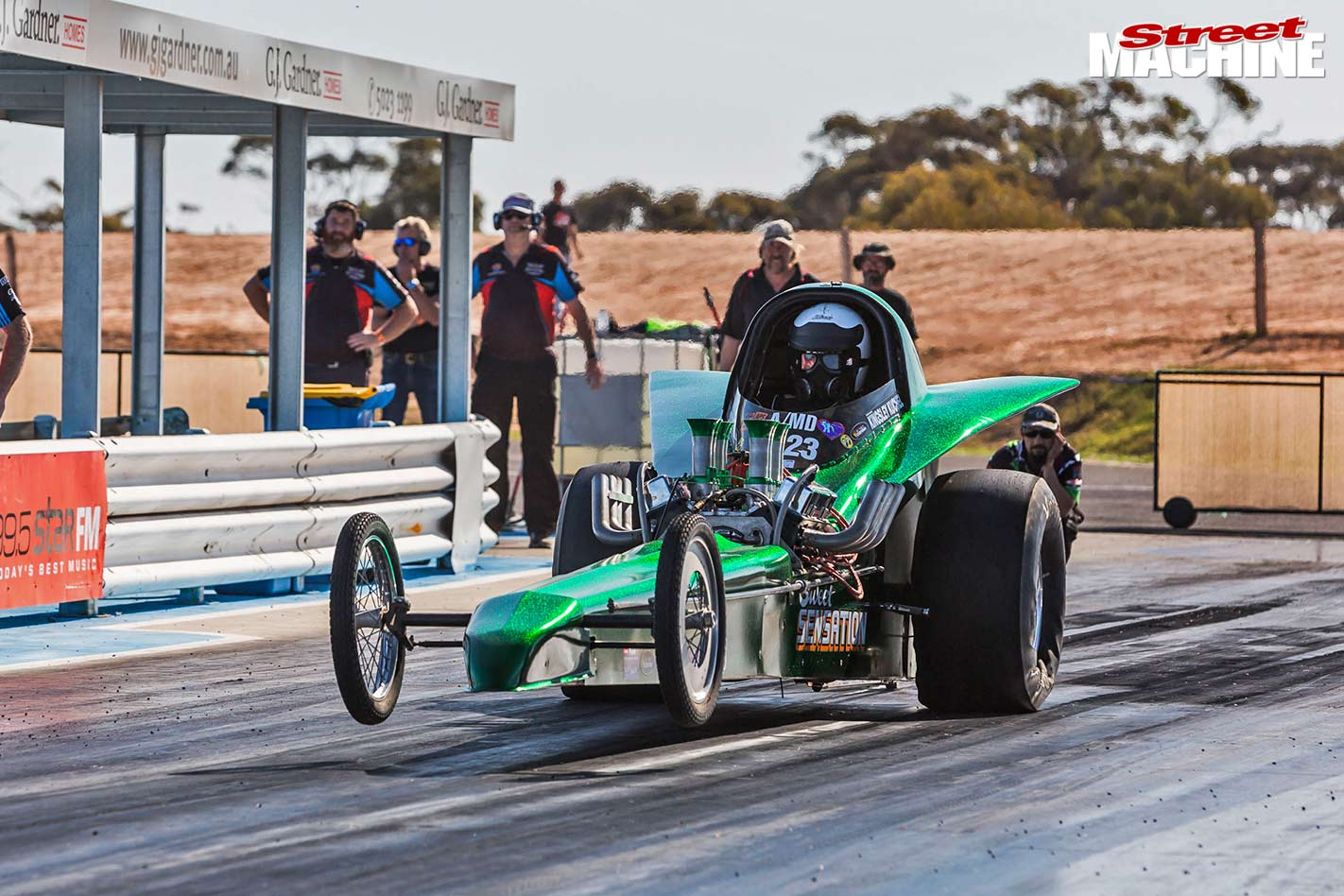 Fed dragster