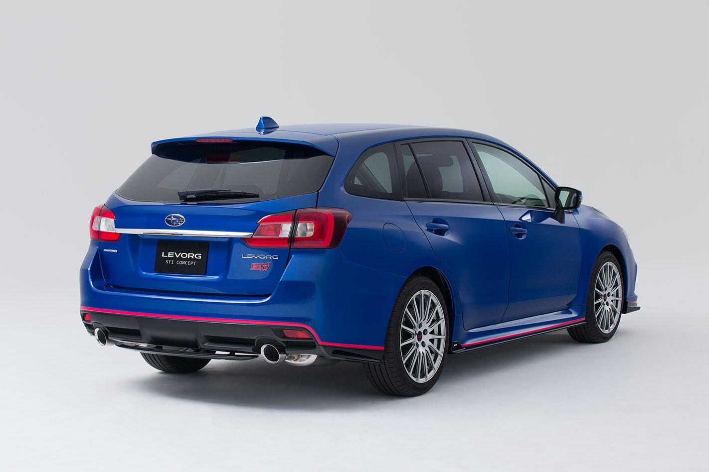 Subaru -Levorg -STI-rear